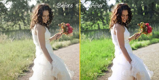 Color correction service